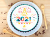 Poster Cake for New Year