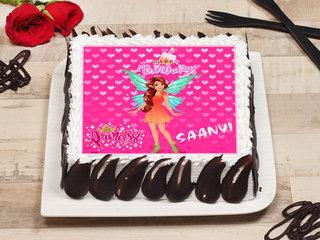Pink Barbie Poster Cake