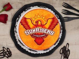 Sunrisers Hyderabad Poster Cake