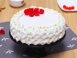 Snowy Affair Decadent Cake