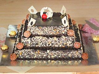 Extravagant Gesture - 3 Tier Chocolate Cake