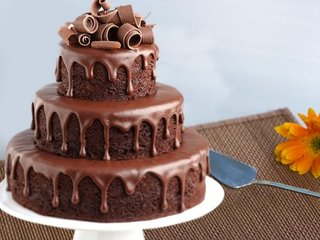 3 Tier Party Cake For Any Celebration