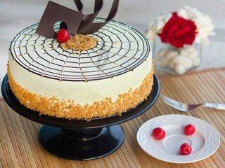 Butterscotch Cake-Round Shape Butterscotch Cake