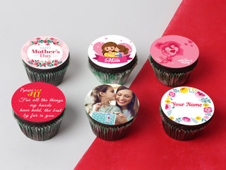 Mothers Day Personalised Cupcakes