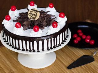Boss Day Black Forest Cake