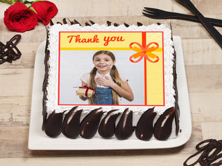 Thank You Personalised Cake