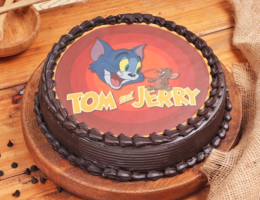 Chocolaty Tom & Jerry Cake