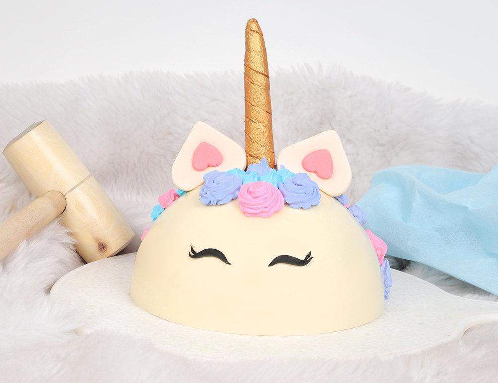 Unicorn Pineapple Pinata Cake