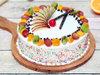 Fruit Funfetti Vanilla Cake