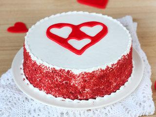 Velvetilicious Bliss - A red velvet cake