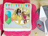 Vibrant Attraction Photo Cake for birthday celebration