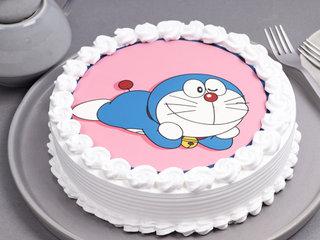 Delicious Doraemon Poster Cake