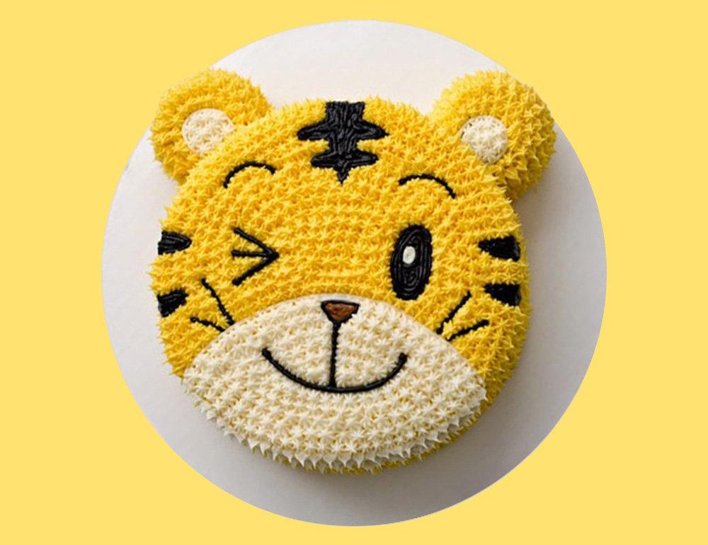 Lion Designer Cake